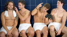 Losing our hair. Thinning hair doesn't make you less hot. In fact, we think it makes you even sexier. See how the Steam Room Stories. Steam Room, Thinning Hair, Hair Loss, Sexy Men, Things To Think About, Hilarious, Shit Happens, Youtube, Losing Hair