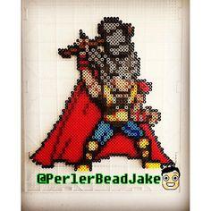 Thor perler beads by PerlerBeadJake