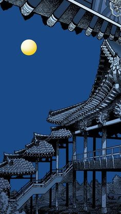 Art of Ancient Bridge Asian or oriental houses and buildings Asian art Night view Tap to see more beautiful iPhone 6 Wallpapers, lockscreen backgrounds, fondos is part of Art wallpaper iphone - Travel Wallpaper, Iphone Background Wallpaper, Aesthetic Iphone Wallpaper, Aesthetic Wallpapers, Wallpaper Desktop, Japanese Wallpaper Iphone, Disney Wallpaper, Wallpaper Quotes, Art Background