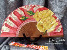 Hand Fan, Home Appliances, Painted Fan, Hand Fans, House Appliances, Appliances