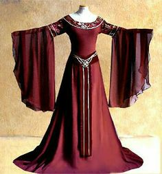 Meet Adelaide twin sister of Merlin, and like him she has magic but s… # Fan-Fiction # amreading # books # wattpad Medieval Dress, Renaissance Dresses, Medieval Costume, Renaissance Fashion, Medieval Clothing, Gypsy Clothing, Old Dresses, Pretty Dresses, Beautiful Dresses