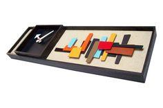 Mid Century Modern Art Modernist Clock Eames Era Tiki Retro Danish Modern Nelson via Etsy