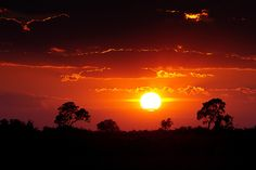 Great African Sunrise by Wild Dogger, via Flickr