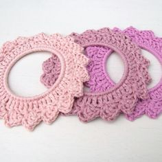 crochet wreath, choice of three pink crochet hoop, Crochet Wreath, Knit Crochet, Beading Patterns, Crochet Wall Hangings, New Baby Products, Pure Products, New Baby Gifts, Summer Flowers