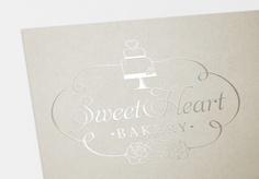 Sweet Heart Bakery  #logo #design #bakery #cake #cupcake #heart
