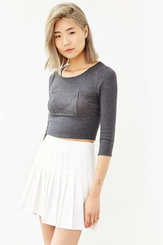 Silence + Noise Outside The Lines Cropped Top