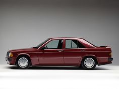 Mercedes-Benz 190 E 2.5-16 (W201) '1988–93 Wow! Would Love That As A Summer Project.