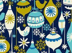 Christmas tree ornaments. Rachel Cave