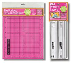 Enter to win the Perfect Layers Mini and The Perfect Little Cutting Mat from Perfect Paper Crafting! These tools are must-haves for card making and photo matting! Giveaway ends April 27, 2014.