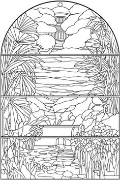 1391 Best Creative Haven coloring pages By Dover images ...