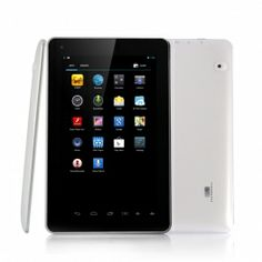 Agent 7 Inch Android 4.2 Tablet PC - Quad Core 1.2GHz CPU, 1GB RAM, 8GB Memory