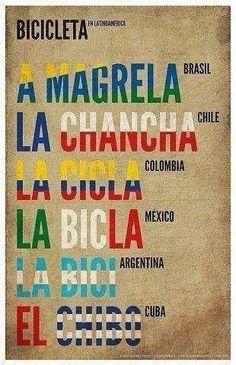La bicicleta en Latinoamérica