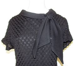 Adorable 1950's/60's Mad Men Style Black by BeauMondeVintage, $89.00