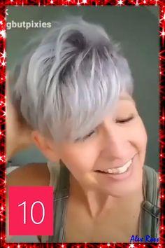 Short Spiky Hairstyles, Short Choppy Hair, Short Hair Undercut, Short Pixie Haircuts, Short Hairstyles For Women, Active Hairstyles, Blonde Pixie Hairstyles, Short Gray Hair, Short Hair Over 60