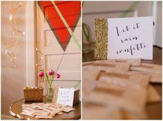 Gold Confetti, Caroline Creates, Grit + Gold, Dallas Wedding Planner | Curator of Custom Events — Dallas-Fort Worth Wedding Planning Studio