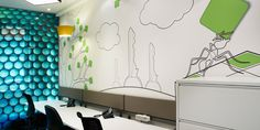 The difference between a good office.and a great office Interior Office, Office Interiors, Visual Communication, Workplace, Divider, Inspired, Digital, Wallpaper, Glass
