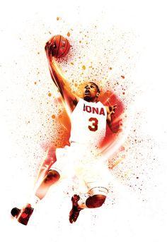 ESPN Magazine 'Giant Killers' - NOPATTERN / Chuck Anderson: Art, design, & creative direction