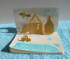 make a mini pop up book //artist: parastou haghi