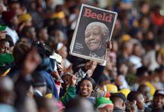 L'hommage à Mandela en images