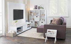 Tok&Stok Homecinema Aconchegante e versátil, o sofá retrátil é ideal para curtir a sessão de cinema em casa.