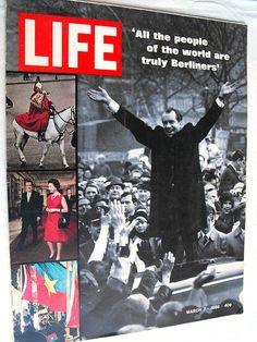 Richard Nixon Berliners Berlin Germany Italy Fashion 1969 March 7 Life Magazine