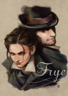 Frye twins the are so cute. evie and Jacob Frye - assassin's Creed Xbox One, Jacob And Evie Frye, All Assassin's Creed, Assassins Creed Series, Video Game Art, Dragon Age, Skyrim, Twins, Steampunk