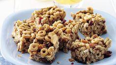 Crunchy Trail Mix Bars