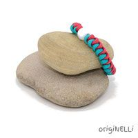paracord armband pearl Paracord Armband, Handmade Bracelets, Braid, Beads, Handarbeit