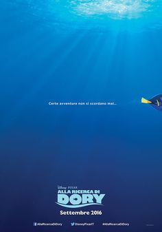 Alla ricerca di Dory Teaser Poster #FindingDory #Pixar