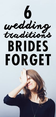 "Couples have been saying ""I Do"" for centuries, and traditions have come and gone throughout the years. But there are some customs that are sometimes forgotten, but are definitely worth a second look on your wedding day. Check out these six that you might want to incorporate into your event."