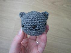 Little Bear Crochets — Free pattern: Neko Atsume Crochet Cat Pattern, Crochet Animal Patterns, Crochet Patterns Amigurumi, Stuffed Animal Patterns, Crochet Dolls, Free Pattern, Tutorial Crochet, Simply Crochet, Free Crochet