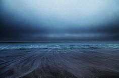 Ocean Waves and Sand Collide Together in Beautiful Seascape Photos - My Modern Met