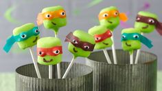 Teenage Mutant Ninja Turtles Party - Betty Crocker
