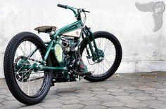 bikerMetric | custom honda yamaha metric bobbers, choppers, cafe racers, custom parts accessories: honda bobbers from yogyakarta's dariztdesign