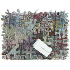 Sophie Digard jigsaw puzzle crochet scarf