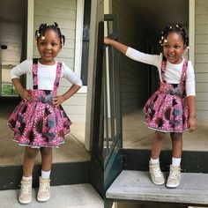 Your baby girl will fall quickly for some of these Ankara styles. Here are the various Ankara styles your baby girl would fall for; Ankara Styles For Kids, African Dresses For Kids, African Babies, African Children, African Print Dresses, African Print Fashion, Africa Fashion, African Fashion Dresses, Ankara Dress Styles