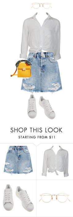 """Untitled #294"" by naisvisions ❤ liked on Polyvore featuring Ksubi, Charlotte Russe, adidas and Eyevan 7285"