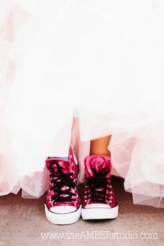 Dallas Quinceanera. Orion Ballroom - Dallas. @Julie Gates the Box Catering  . Pink quinceanera dress. Quinceanera ideas. Shoes. Converse. Dallas Photographer. pink chuck taylor, converse, dress