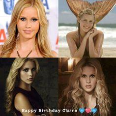Happy Birthday Claire  (06.11) Vampire Diaries Cast, Vampire Diaries The Originals, City Of Bones, Claire Holt, The Infernal Devices, Happy Birthday, It Cast, Fandoms, Happy Brithday