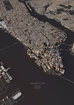 "Curioos.com | ""Manhattan 2"" by Luis Dilger (Germany) - https://pinterest.com/curioos"