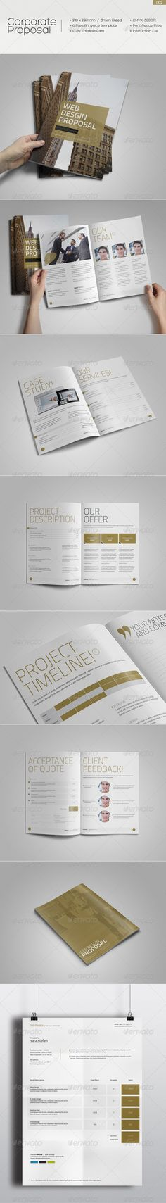 Proposal Template Fonts, Timeline and Stationery - best proposal templates