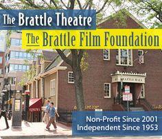 The Brattle Movie Theatre, Harvard Square, Cambridge, MA.