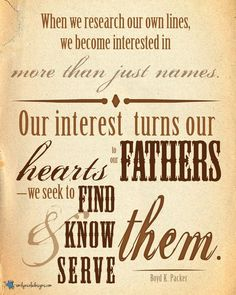 #FamilyHistory #LDS June 2013 Visiting Teaching Message ...