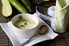 Classic Cold Zucchini Soup Recipe