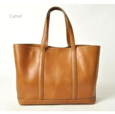 Premium leather tote