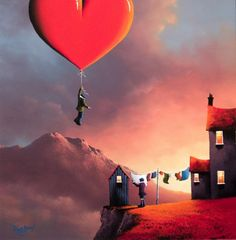Романтика в работах David Renshaw
