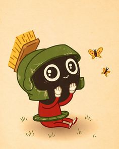 I <3 me some Marvin the Martian!