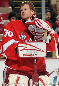 Chris Osgood: Detroit Red Wings: Stanley Cup Champion