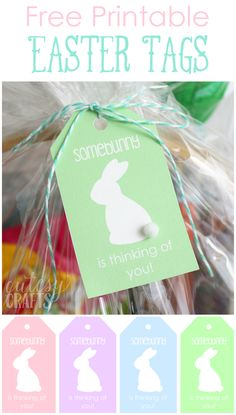 Easter Basket for Mom with Printable Easter Tags #EasterSweets #ad