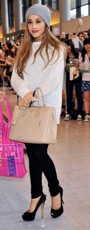 Ariana Grande Peep Toe Pumps